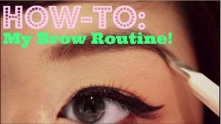 How-To: My Natural, Bold Brows Routine + NEW CAMERA! ♥ Thumbnail