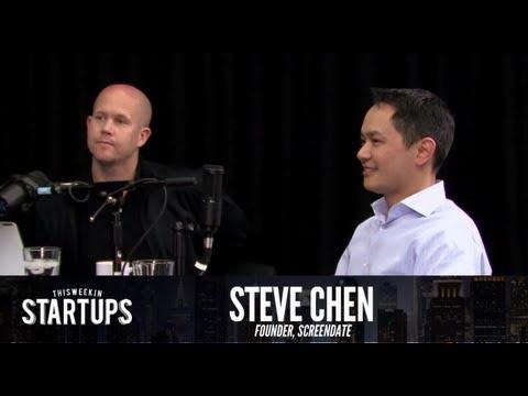 - Startups - Steve Chen of ScreenDate on This Week in Startups #259