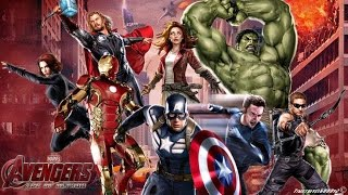 Avengers: CBM/Cartoon theme mashup
