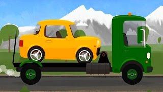 Мультфильм про машинки - Доктор Машинкова 🚗 - О,том как машинка проколола колесо🚕🏎