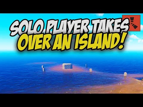The Best Solo Start I've Ever Had! Taking OVER an Island! - Rust Solo Survival Gameplay