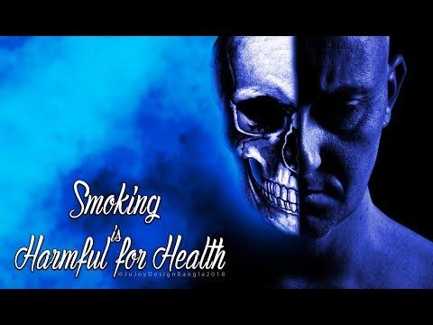 Death in smoking Manipulation Picture Adobe Photoshop CC By Ju Joy Desig...