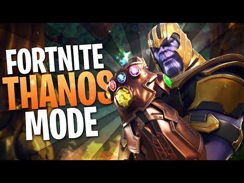 Thanos Mode! (Fortnite Thanos Gameplay)