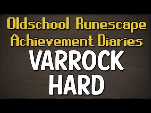 Varrock Hard Achievement Diary Guide | Oldschool Runescape