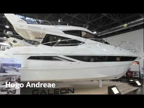 Galeon 380 Flybridge from Motor Boat & Yachting