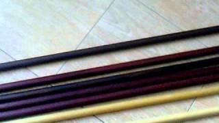 Бо-шест, Дзе, Ханбо, Тамбо, Парные палочки