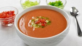 Reteta Supa rece gazpacho - JamilaCuisine
