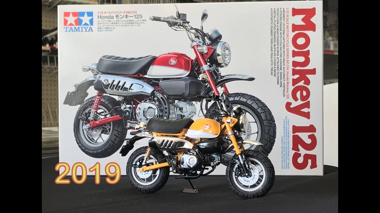 How to build the 2019 New Tamiya 1/12 Honda Monkey Shizuoka plastic model  show new release kit