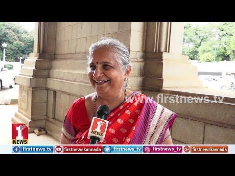 'ದಸರಾ ಉದ್ಘಾಟನೆ ನನಗೆ ಸಿಕ್ಕ ಅತಿ ದೊಡ್ಡ ಗೌರವ' | Sudha Murthy | Mysuru Dasara chief guest