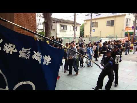 近畿大学応援団・2014年生駒祭前夜祭パレード②