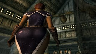 Sexy Skyrim Mods ► Ariel The Big Jiggly Butt Elf TBBP