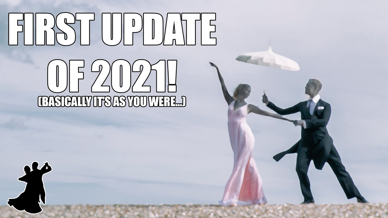 The first update of 2021!