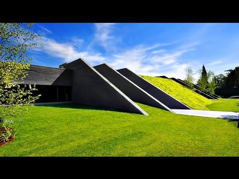 Ultra-Modern Futuristic Concrete Luxury Residence in Pozuelo de Alarcon, Madrid, Spain (by A-cero)