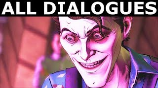 John & Bruce In The Fun House - All Dialogues - Bad Path - BATMAN The Enemy Within Episode 4