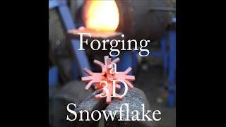 Forging a 3D Snowflake