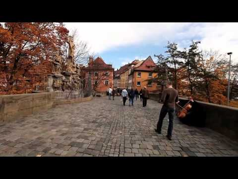 Walk around Bamberg and tour the breathtaking cathedral and old town hall