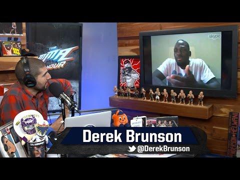 Derek Brunson Defends Herb Dean's Stoppage in Uriah Hall Fight