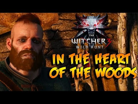 The witcher 3 in the heart of the woods both ending