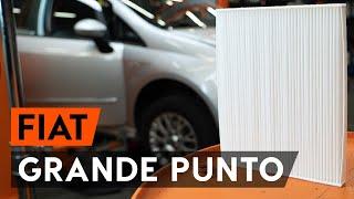Installation Innenraumluftfilter FIAT GRANDE PUNTO: Video-Handbuch