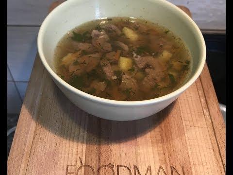 Суп с сердечками индейки: рецепт от Foodman.club
