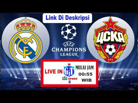 Link Live Streaming Real Madrid Vs Cska Moscow 13-12-18
