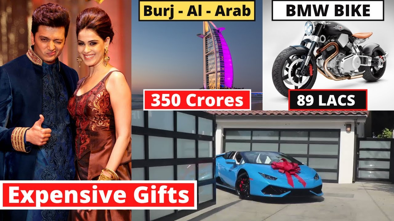 Riteish Deshmukh's 10 Most Expensive Birthday Gifts From Bollywood Stars | #happybirthday2020