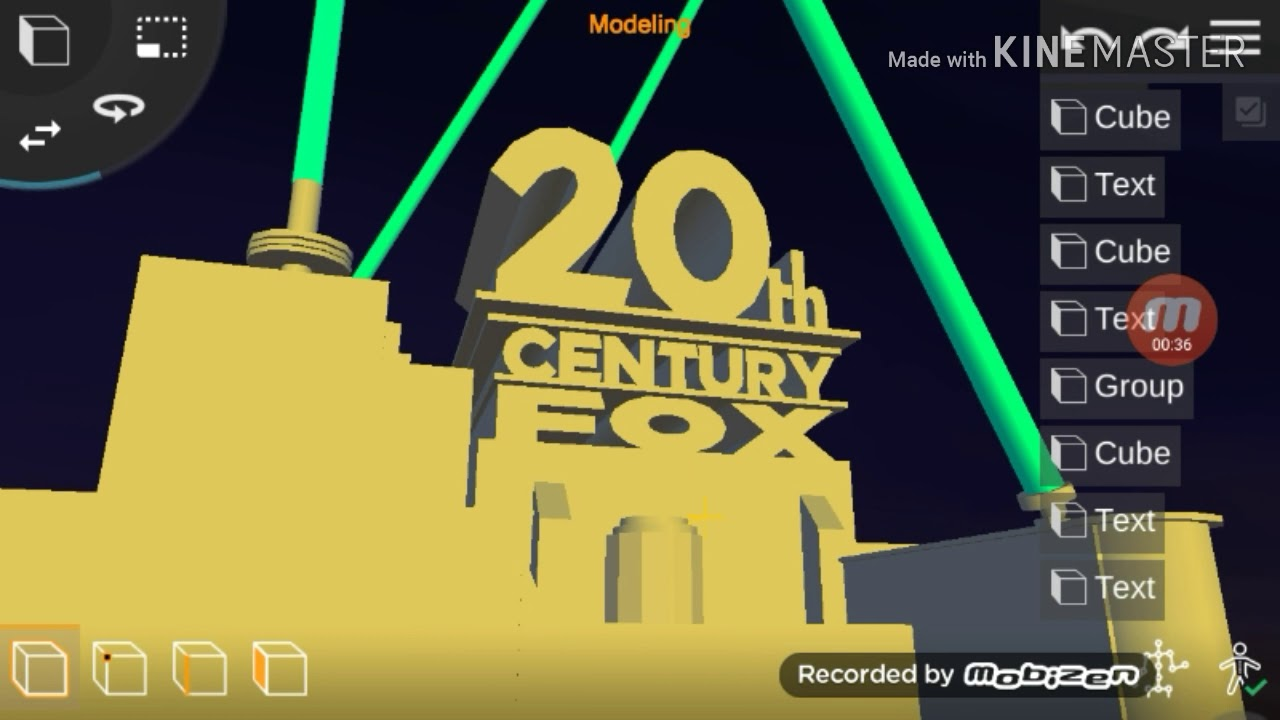 20th Century Fox 1994 Remake in Prisma3D with TCF 90s Font
