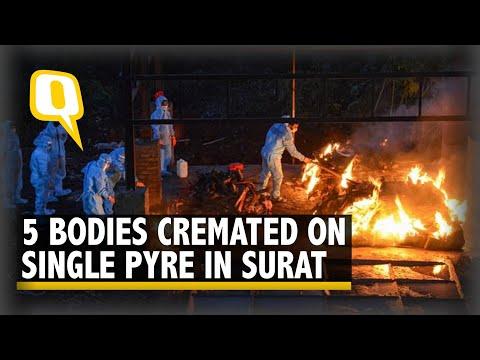 COVID Horror in Gujarat | Crematorium Rush Defies Official Death Toll | The Quint