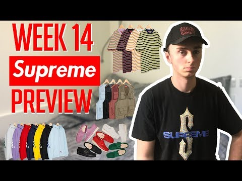 SUPREME WEEK 14 DROPLIST PREVIEW