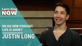 """Justin Long talks """"digging deep"""" on his new podcast 'Life is Short'"""