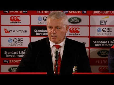 Press Conference: Warren Gatland after Crusaders win | Lions NZ 2017