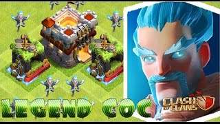 NEW! - Mass Ice Wizard Attack COC - Clashmas 3rd Gift is here ! - Clash Of Clans