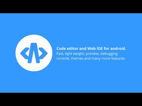 Code Editor And Web IDE For Android | Web Development From Phone