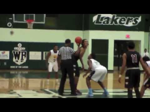 2015 Michigan State commit Deyonta Davis records triple double + game saving block