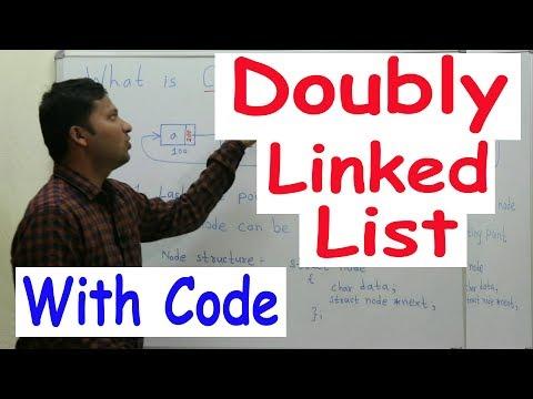 Doubly Linked List Implementation Code/Program