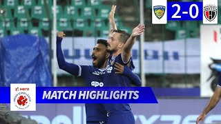 Chennaiyin FC 2-0 NorthEast United FC - Match 60 Highlights | Hero ISL 2019-20