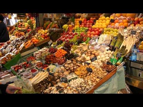 Mercat de La Boqueria Barcelona food market