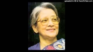 JADI TOR DAK SHUNE(যদি তোর  ডাক শুনে কেউ না আসে) -SUCHITRA MITRA