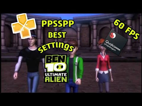 PPSSPP BEN 10 ULTIMATE ALIEN COSMIC DESTRUCTION BEST SETTINGS Full HD Amor Gaming