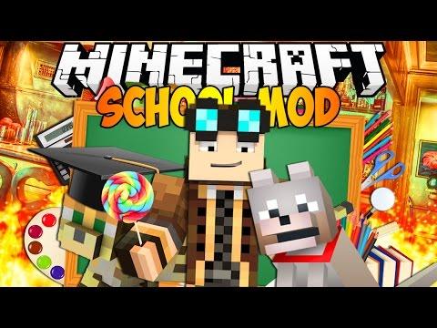 DISTRUGGIAMO LA SCUOLA! - Minecraft MOD : Il Laboratorio di Lyon