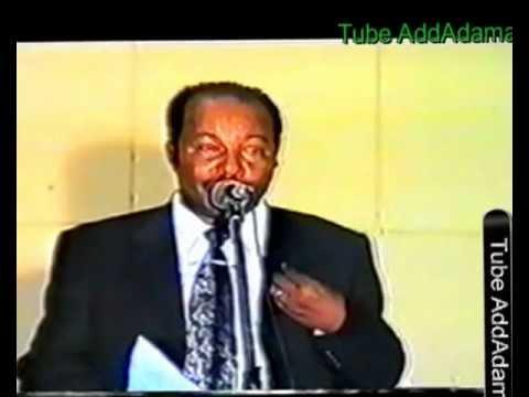 Bara 2003 Yunivarsitii Finfinne Part 4 final Obbo Dirribii