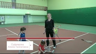 Большой теннис. Работа ног на лестнице. Часть 2. Игровая тренировка.