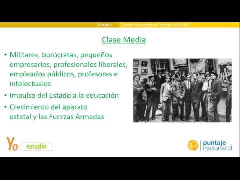 Cambios sociales en Chile a fines del siglo XIX