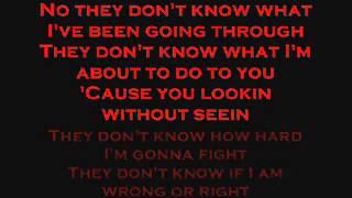 DMX - Lookin Without Seein (Lyrics)