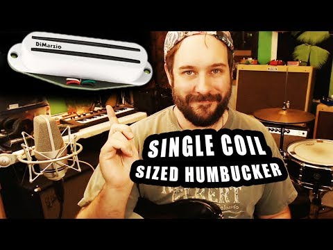 DiMarzio Pro Track - The Best Single Coil Sized Humbucker! DP188 Stratocaster Pickup Demo and Review