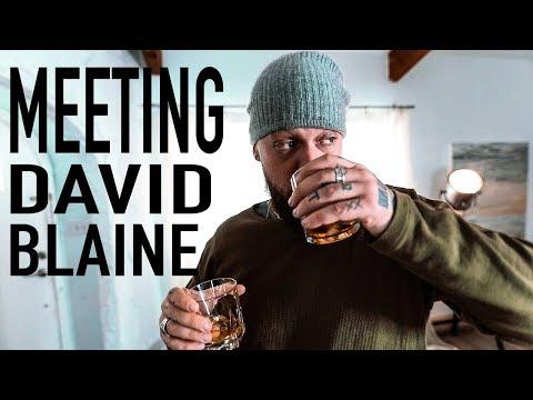 My AWKWARD encounter with David Blaine (True Story)