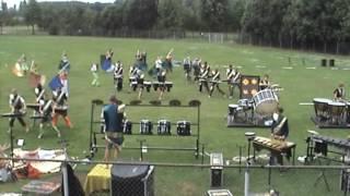 2005 | Rhythm Stars Sneek | WMC Kerkrade | Showrepetitie op sportveld