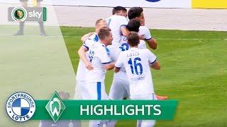 Sportfreunde Lotte - SV Werder Bremen 2:1 | Highlights DFB-Pokal 2016/17 - 1. Runde