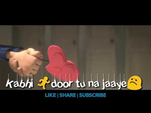 👬TERE JAISA YAAR KAHAN💞  Animated Friendship Song   Whatsapp Love Friendship❤️