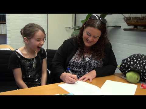 Oprichting Stichting Gelukskinders van Amira Willighagen